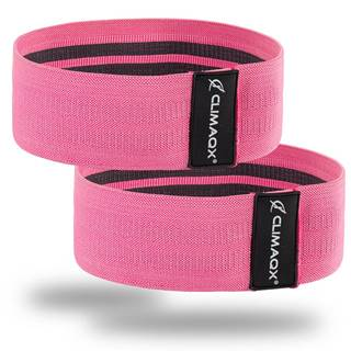 Climaqx Posilňovacia guma Booty Band Pink