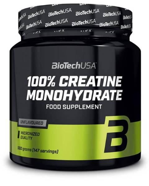 Biotech USA Biotech 100 % Creatine Monohydrate Dóza 500 g