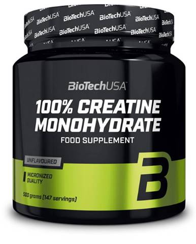 Biotech 100 % Creatine Monohydrate Dóza 500 g