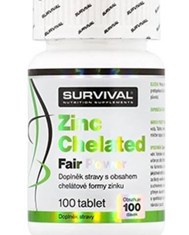 Survival Zinc Chelated Fair Power 100 tabliet