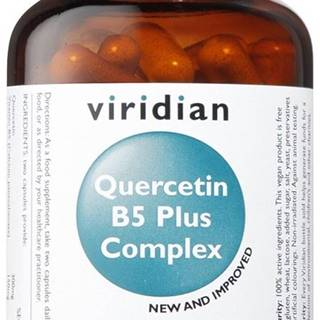Viridian Quercetin B5 Plus Complex 60 kapsúl