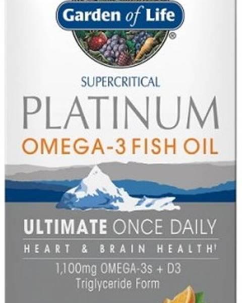 Garden of life Garden of Life Minami Platinum Omega-3 rybí olej 30 kapsúl variant: pomaranč
