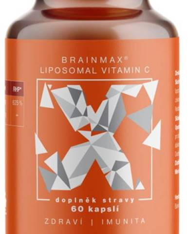 BrainMax Liposomal Lipozomálny Vitamín C 500 mg 60 kapsúl