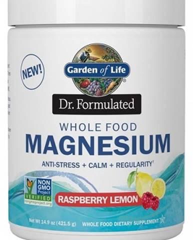 Garden of Life Magnesium Dr. Fomulated - Horčík 421,5 g variant: malina - citrón