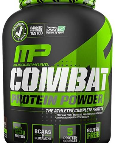 MusclePharm Combat Protein Powder 1814 g variant: čokoláda - arašidové maslo
