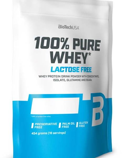 Biotech USA BioTech USA BioTech 100 % Pure Whey Lactose Free 454 g variant: čokoláda