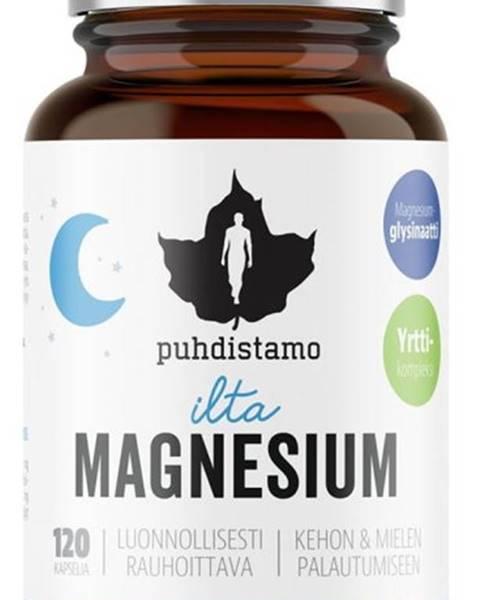 Puhdistamo Puhdistamo Night Magnesium (Horčík) 120 kapsúl