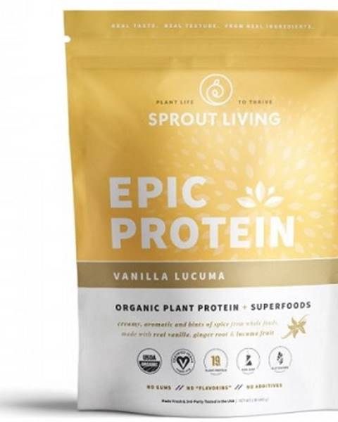 Sprout Living Sprout Living Epic proteín organic Vanilka a Lucuma 455 g