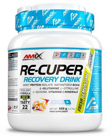 Amix Nutrition Amix Re - Cuper 550 g variant: citrón - limetka