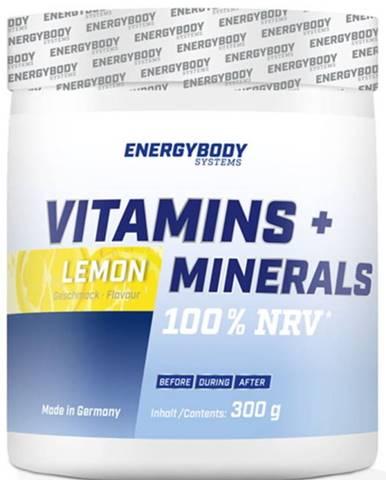 EnergyBody Vitamins + Minerals 300 g variant: citrón