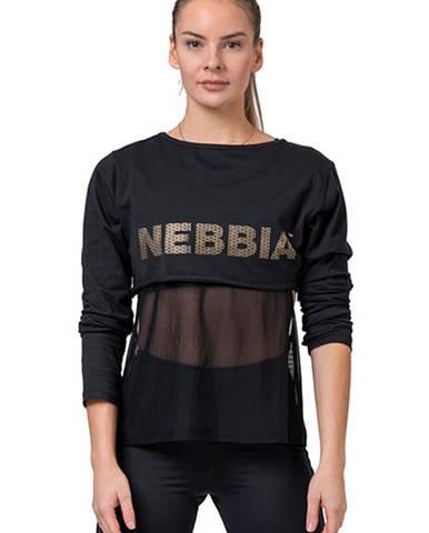 Nebbia Intense Mesh Tričko 805 čierne variant: L