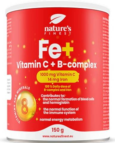Nutrisslim Iron + Vitamín C + B - Complex 150 g
