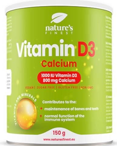 Nutrisslim Vitamín D3 1000 iu + Calcium 800 mg 150 g