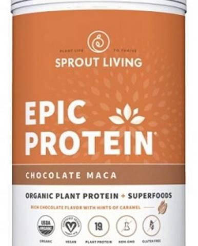 Sprout Living Epic proteín organic Čokoláda a Maca 910 g