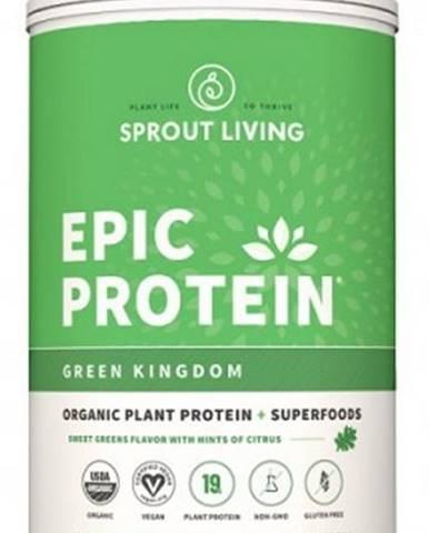 Sprout Living Epic proteín organic Zelené kráľovstvo 910 g