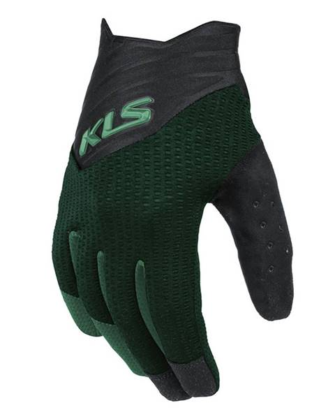 Kellys Cyklo rukavice Kellys Cutout Long zelená - XS