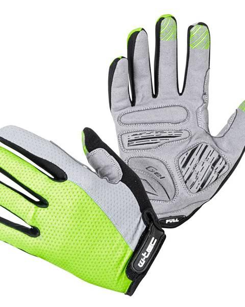 W-Tec Motokrosové rukavice W-TEC Vilasar fluo zelená - S