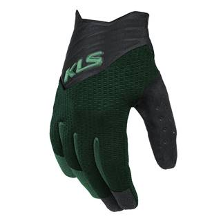 Cyklo rukavice Kellys Cutout Long zelená - XS