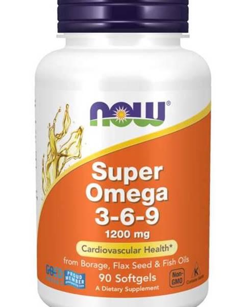 NOW Foods NOW Foods Super Omega 3-6-9 1200 mg 180 softgel kapsúl 180 kaps.