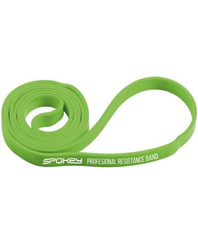 Spokey Posilňovacia guma Cross band POWER II 11-19 kg Green