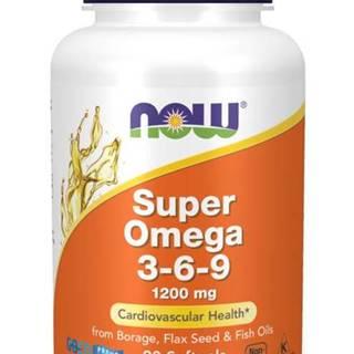 NOW Foods Super Omega 3-6-9 1200 mg 180 softgel kapsúl 180 kaps.