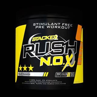 Stacker2 Predtréningový stimulant Rush N.O.X 360 g tropical