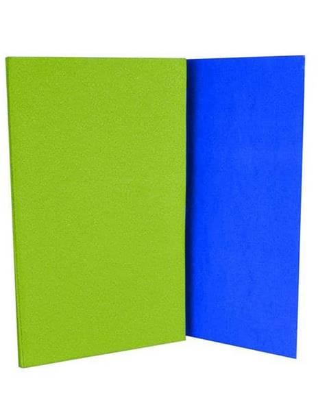 Sedco Karimatka skládací s fólií - zeleno-modrá