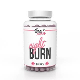 BeastPink Spaľovač tukov Night Burn 120 kaps.