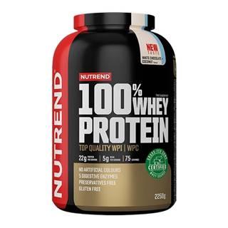Nutrend 100% Whey Protein 2250 g cookies & krém