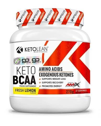 Amix KetoLean Keto goBHB + BCAA Příchuť: Lemon, Balení(g): 270g