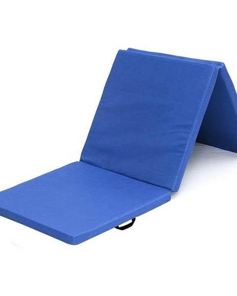 Sedco Žíněnka skládací třídílná SEDCO 183x60x4 cm - Modrá