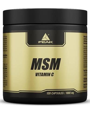MSM + Vitamin C - Peak Performance 120 kaps.