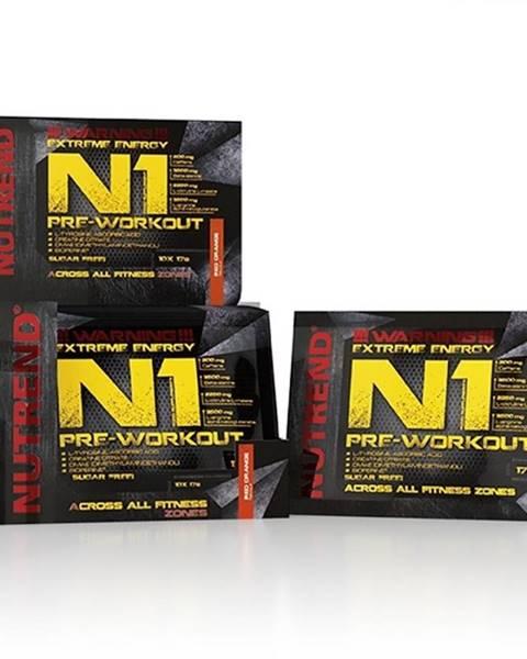 Nutrend Pre-workout zmes Nutrend N1 10x17 g červený pomaranč