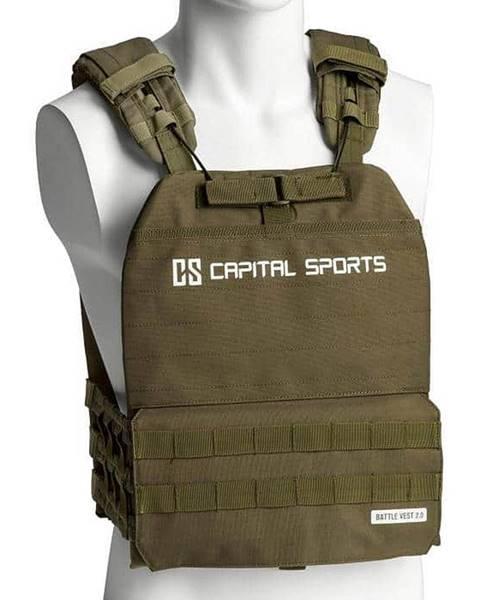 Capital Sports Záťažová vesta Capital Sports Battlevest 2.0 2 x 4 kg - zelená