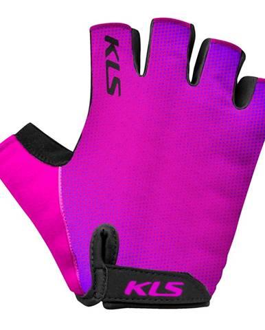 Cyklo rukavice Kellys Factor Purple - XL
