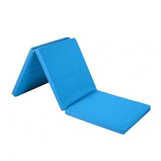 Žíněnka skládací třídílná SEDCO 180x90x5 cm - sv.modrá