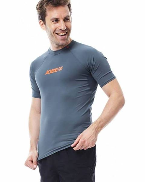 JOBE Pánske tričko na vodné športy Jobe Rashguard 7050 Farba biela, Veľkosť S