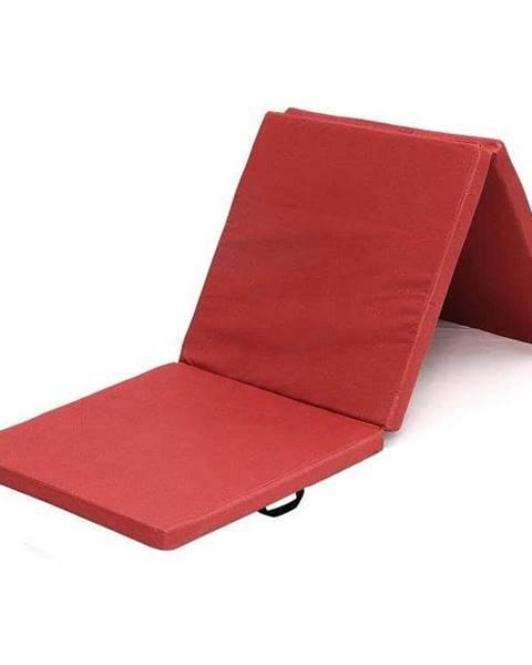 Sedco Žíněnka skládací třídílná SEDCO 180x60x5 cm - Červená