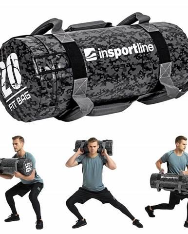 Posilňovací vak s úchopmi inSPORTline Fitbag Camu 20 kg