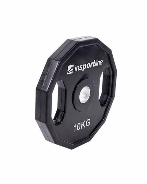 Insportline Pogumovaný kotúč inSPORTline Ruberton 10 kg