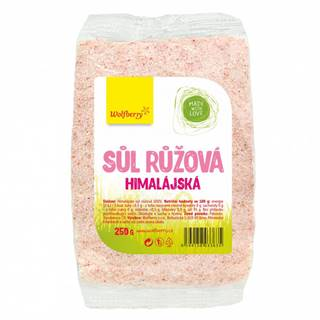 Wolfberry Himalájska soľ ružová 1000 g