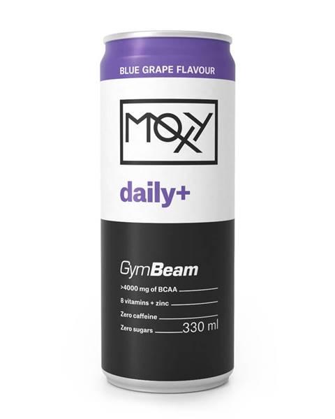 GymBeam GymBeam MOXY daily+ 330 ml modré hrozno