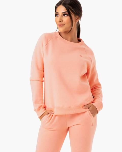 Ryderwear Ryderwear Dámska mikina Adapt Boyfriend Peach  XS