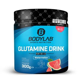 Bodylab24 Glutamín Drink vodný melón