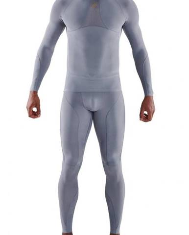 SKINS Kompresné tričko Long Sleeve Series-5 Grey  S