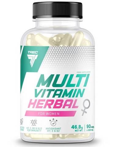 Multivitamin Herbal for Women - Trec Nutrition 90 kaps.
