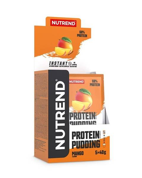 Nutrend Protein Pudding - Nutrend 5 x 40 g Chocolate + Cocoa