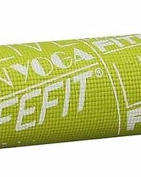 Lifefit Gymnastická podložka LIFEFIT SLIMFIT PLUS, 173x58x0,6cm, světle zelená
