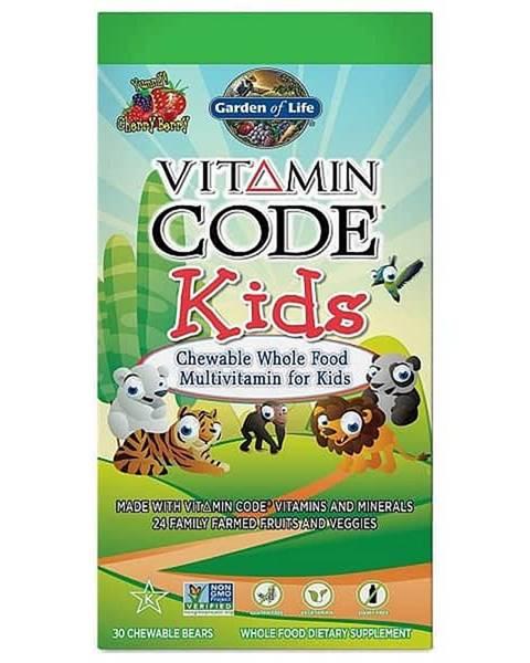 Garden of life Garden of Life Vitamín Code Kids multivitamín pro děti 30 tablet