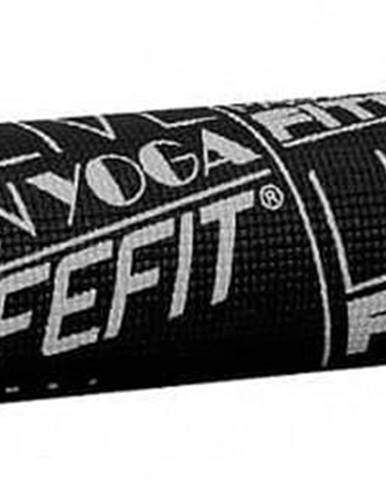 Gymnastická podložka LIFEFIT SLIMFIT PLUS, 173x58x0,6cm, černá